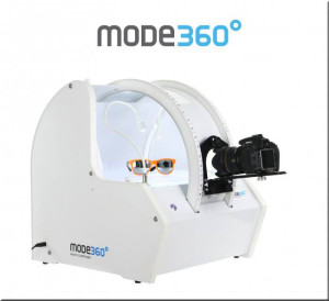 Mode 360 equipment for 3D product photography of all angles