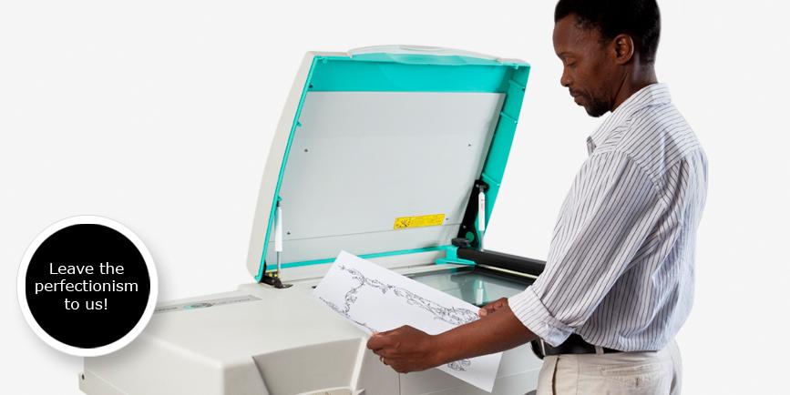 High-end Flat bed scanning